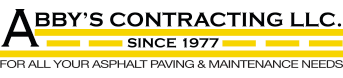 Abby's Contracting Logo